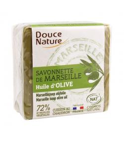 Savonnette de Marseille naturelle huile d'olive - 100g - Douce Nature