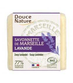 Savonnette de Marseille naturelle lavande - 100g - Douce Nature