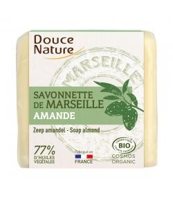 Savonnette de Marseille naturelle amande - 100g - Douce Nature