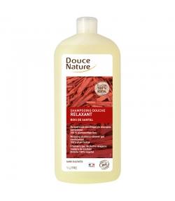 Entspannendes BIO-Shampoo Duschgel Sandelholz - 1l - Douce Nature