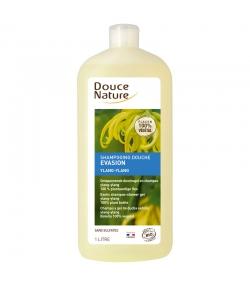 BIO-Shampoo Duschgel Evasion Ylang-Ylang - 1l - Douce Nature
