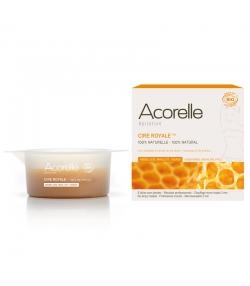 Cire royale épilation aisselles, maillot & visage BIO cire d'abeille & lys blanc - 100g - Acorelle