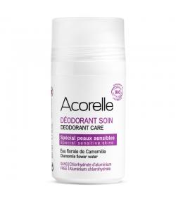 Déodorant à bille soin peaux sensibles BIO camomille - 50ml - Acorelle