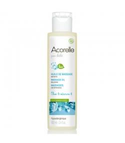 Huile de massage détente bébé BIO olive & vitamine E - 100ml - Acorelle