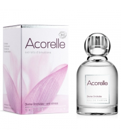 BIO-Eau de Parfum Anti-Stress Divine orchidée - 50ml - Acorelle