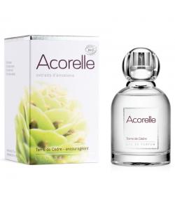 Eau de parfum encourageante BIO terre de cèdre - 50ml - Acorelle