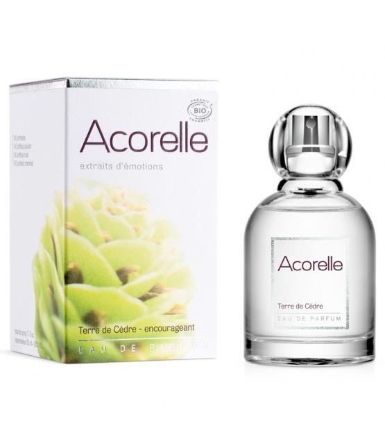 Mut machendes BIO-Eau de Parfum Terre de cèdre - 50ml - Acorelle