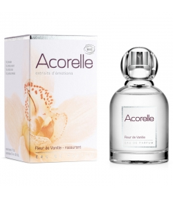 Eau de parfum rassurante BIO fleur de vanille - 50ml - Acorelle