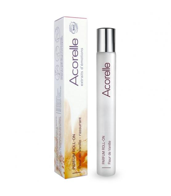 Bestätigendes BIO-Parfüm Roll-on Fleur de vanille - 10ml - Acorelle