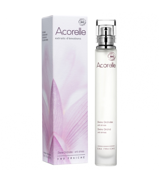 BIO-Eau fraîche Anti-Stress Divine orchidée - 30ml - Acorelle
