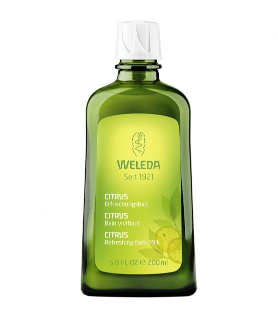 Bain vivifiant BIO citrus - 200ml - Weleda