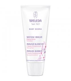 Crème protectrice bébé BIO mauve blanche – 50ml – Weleda
