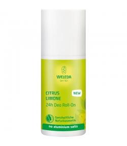 Déodorant à bille 24h BIO citrus - 50ml - Weleda