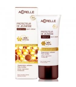 BIO-Nachtcreme zur Erhaltung der Jugendlichkeit der Haut Pollen & Propolis - 50ml - Acorelle