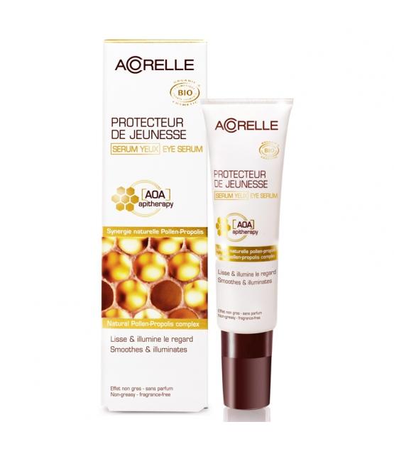 BIO-Augenserum zur Erhaltung der Jugendlichkeit der Haut Pollen & Propolis - 50ml - Acorelle