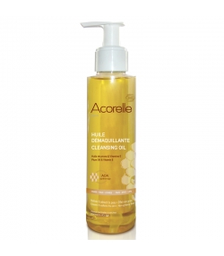BIO-Make-up Entferneröl zur Erhaltung der Jugendlichkeit der Haut Pflaume & Vitamin E - 50ml - Acorelle