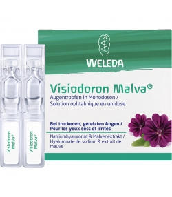 Solution ophtalmique en unidose Visiodoron Malva - 20x0,4ml - Weleda