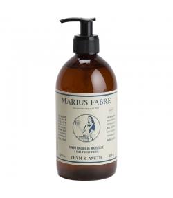 Savon liquide de Marseille au thym & à l'aneth - 500ml - Marius Fabre Nature