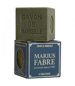 Savon de Marseille vert à l'huile d'olive - 400g - Marius Fabre Nature