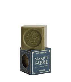Savon de Marseille vert à l'huile d'olive - 100g - Marius Fabre Nature