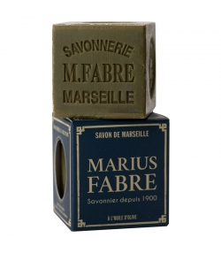 Savon de Marseille vert à l'huile d'olive - 200g - Marius Fabre Nature