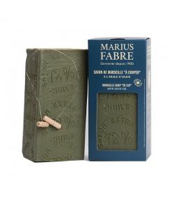 """Savon de Marseille vert """"à couper"""" à l'huile d'olive - 1kg - Marius Fabre Nature"""