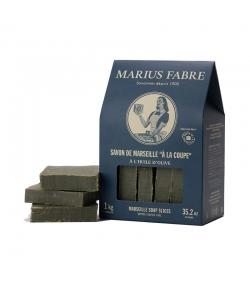 """Savon de Marseille vert """"à la coupe"""" à l'huile d'olive - 1kg - Marius Fabre Nature"""