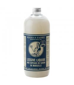 Flüssiges Waschmittel mit Marseiller Seifenflocken ohne Duftstoffe - 1l - Marius Fabre Nature