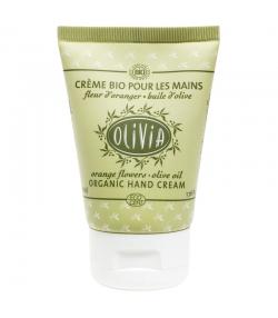 Crème pour les mains BIO huile d'olive & fleur d'oranger - 50ml - Marius Fabre Olivia