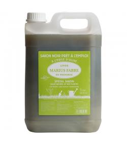"""Savon noir liquide prêt à l'emploi """"spécial jardin"""" à l'huile d'olive - 5l - Marius Fabre Le lavoir"""