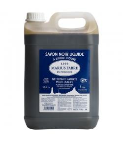Savon noir liquide à l'huile d'olive - 5l - Marius Fabre Le lavoir
