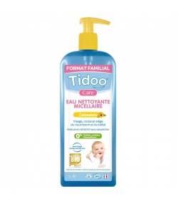 Baby Mizellen BIO-Reinigungswasser Calendula - 1l - Tidoo Care
