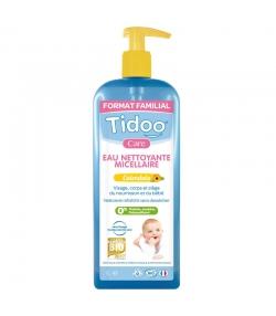 Eau nettoyante micellaire bébé BIO calendula - 1l - Tidoo Care