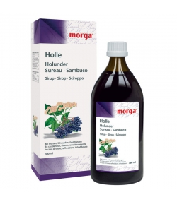 Holle Holunder-Sirup - 380ml - Morga