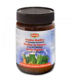 BIO-Gemüse-Bouillon mit Himalaja Kristallsalz – 200g – Morga
