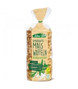 Galettes maïs amarante au romarin & sel marin BIO - 100g - Allos
