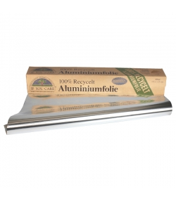 Aluminiumfolie 10m x 29cm - 1 Rolle - If You Care
