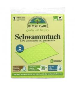 Schwammtücher - 5 Stück - If You Care