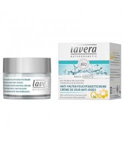 Anti-Falten BIO-Feuchtigkeitscreme Q10, Jojoba & Aloe Vera - 50ml - Lavera Basis Sensitiv