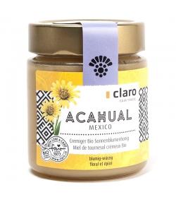 Miel de fleurs d'acahual crémeux BIO du Mexique  - 500g - Claro