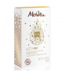 Savon BIO aux 5 huiles précieuses - 100g - Melvita L'Or Bio