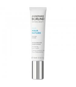 Crème contour des yeux repulpante BIO caféine & acide hyaluronique - 15ml - Annemarie Börlind Aquanature