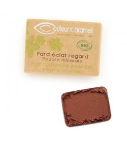 BIO-Lidschatten matt N°167 Rust - 1,3g - Couleur Caramel