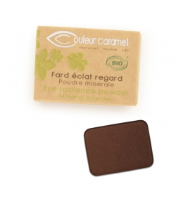 BIO-Lidschatten glänzend N°169 Earth - 1,3g - Couleur Caramel