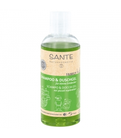 Shampooing & gel douche explorateur BIO aloe vera - 200ml - Sante Family Kids