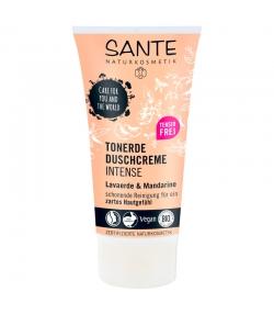 Crème douche argile intense BIO rhassoul & mandarine - 150ml - Sante