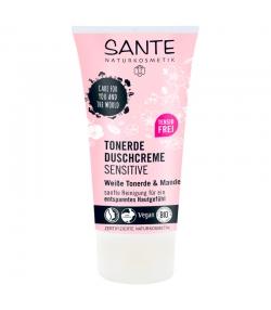 Crème douche argile sensitive BIO argile blanche & amande - 150ml - Sante