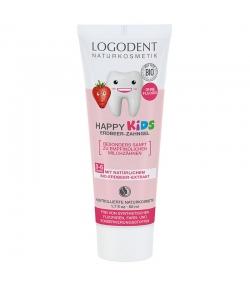 Gel dentaire happy kids BIO fraise sans fluor - 50ml - Logodent