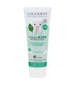 Fresh Kids BIO-Zahngel Minze Fluoridfrei - 50ml - Logodent