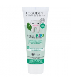 Fresh Kids BIO-Zahngel Minze Fluoridfrei - 50ml - Logodent